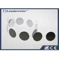 Round RFID Sticker Tags , PET HF Printed Nfc Stickers 13.56Mhz ISO 14443A