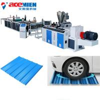 China Plastic Recycling Corrugated Roof Sheet Making Machine Easy Installation on sale
