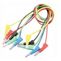 Quality Audio & Video use Banana to Banana Test Leads 4mm Custom Banana Cables for sale