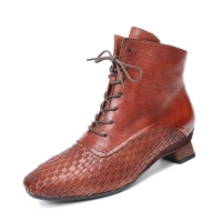 Buy cheap HZM027 Real Cowhide Women'S Martin Boots Autumn And Winter New Fashion Short from wholesalers