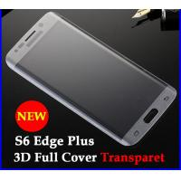 Quality 0.26mm 3D Curved Edge Full Coverage Tempered Glass Screen Protector For Samsung galaxy S6 Edge Plus for sale