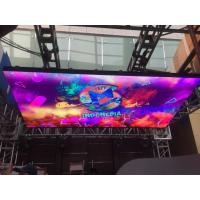 China Audio Visual Indoor LED Video Walls DJ Booth 3.9mm LED Screem 1/16 Scan Driving on sale