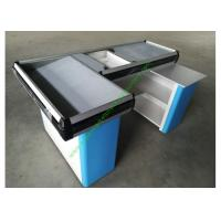 Quality Customized Color Grocery Store Retail Cashier Desk / Stylish Cash Table For Hypermarket for sale