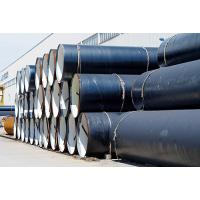 Quality Round Shape A53 Grade B SAW Steel Pipe / Carbon Steel Pipe Welded Connection for sale