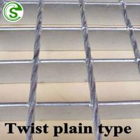 China Light weight 32 x 5 galvanized steel drain floor grating in metal building material on sale