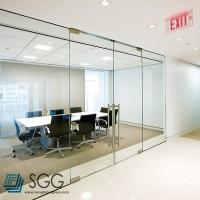 Quality clear/ultra clear/silkscreen/acid etched tempered glass partition 6mm 8mm 10mm 12mm for sale