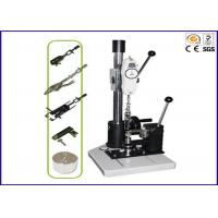China Snap Button Pull Testing Equipment , Button Snap Pull Tester with FB-50k Force Gauge on sale