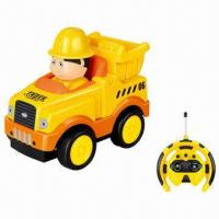 Quality Remote Control Cartoon Truck with Sound and Music for sale