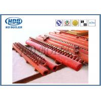 Quality Red Effective Energy Saving Boiler Manifold Headers For Industry , Long Life for sale