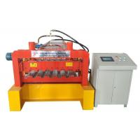 Quality Steel Panel Floor Deck Roll Forming Machine Hydraulic Pressure 10-12MPa for sale