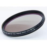 Quality HD Camera lens filter 67mm 77mm 82mm optial glass multicoating black ring with gold line for sale