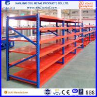 Quality Metallic Galvanized / Powder Coated Steel Long Span / Medium Duty Rack  800kg capacity for sale