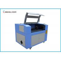 Quality CO2 Cnc Laser Cutting Machine 6090 With DSP Control Steeper Motor Glass Tube for sale