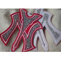 Quality Iron On Backing Stone Custom Embroidered Patches With Handmade for sale