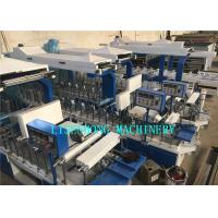 Quality Wooden Floor Wrapping Machine , Automatic Hot Melt Glue Applicator Machine for sale