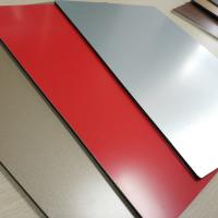 Quality ACP High Gloss Aluminium Composite Panel 2mm Drawing Process Exterior Wall for sale