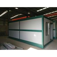 Quality Africa hot sale Modular Sandwich panel folding container office container house for sale