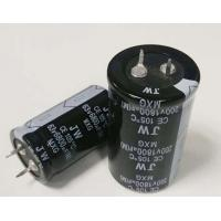 Quality Compact Polarised Electrolytic Capacitor , 10mm Terminal Pitch Solid Aluminium Capacitor for sale