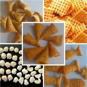 Quality Snacks/ flour fried salad sticks/ chips/ bugles processing line for sale