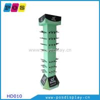China Rotating POS corrugated paperboard floor display stand on sale
