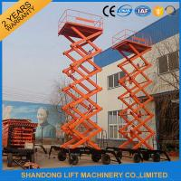 Quality Electric Hydraulic Lift Table , Mobile Aerial Work Lifting Platforms Equipment for Building Cleaning for sale