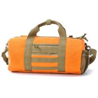 Quality Large Men Travel Duffel Bags Orange Duffel Bags With An Inner Pouch for sale