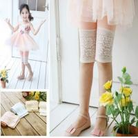 Quality 2013 girls leggings pure color lace lace candy color children's wear leggings sell like hot cakes for sale