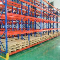 Quality Durable Steel Heavy Duty Pallet Racks Warehouse Storage Shelving Powder Coating Surface for sale