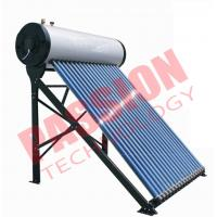 Quality Vacuum Tube Solar Water Heater , Solar Tube Hot Water System Energy Saving for sale