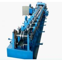 Buy Galvanized Steel CZ Purlin Cold Roll Forming Machine High Speed 0 - 12m/Min at wholesale prices