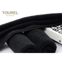 Quality Black Eco Friendly Comfortable Sports Hand Towels Microfiber Embroidered Hand Towels for sale