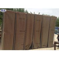 Sand Filled Barriers Welded Defensive Barriers Wall With Non - Woven