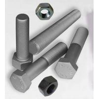 China Carbon steel high strength thread rod /stud bolts/heavy hex bolt ASTM A193 A194 A320 A453 on sale