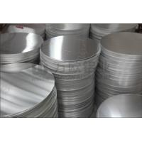 Quality 1060 Circular Aluminum Plate 0.4 - 6.0mm Thickness High Strength For Traffic Sign for sale