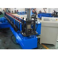 Quality 41 * 21 mm C Channel Roll Forming Machine Steel Slotted Strut Channel Machine for sale