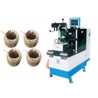 China Coil End Automatic Lacing Machine Double Sides Motor Stator on sale