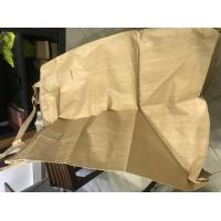 Quality PP Big Jumbo Bulk Bags For Cement / Laminated Big Bags For Packaging for sale