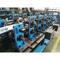 Quality Wire-electrode Cutting Top Hat Roll Forming Machine Cr12 Cutter 4kw for sale