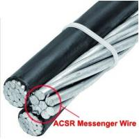 China Durable Galvanized Steel Wire Cable For Overhead Transmission Line Of ABC Aerial Bundled Cable on sale