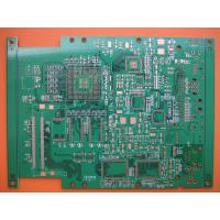 China Immersion Silver FR-4 high Tg round, slots Quick Turn PCB Electronic circuit boards on sale