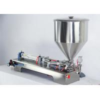 Quality Adjustable Semi Automatic Filling Machine , Glass Milk Bottle Filling Machine for sale