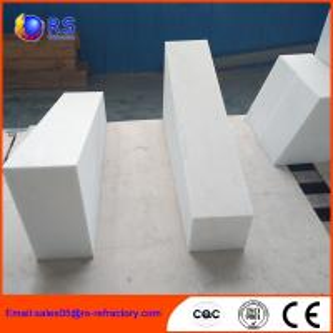 Buy cheap High Temperature Stability Corundum Brick / Durable Heat Resistant Bricks from wholesalers