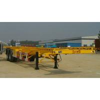 Quality Dual Axles 20 Foot Extendable Flat Bed Semi Trailer T700 Steel Versatile for sale