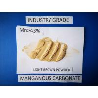 Quality Manganese Carbonate Powder industry grade  Raw Materials For Manganese Nitrate Salt for sale