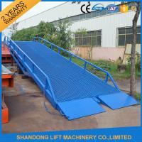Quality Adjustable Loading Dock Ramp,  Warehouse Container Loading Mobile Dock Ramp for sale