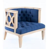 Quality French style craved linen fabric wooden solid event chair for weddings parties executive occasional design and for sale
