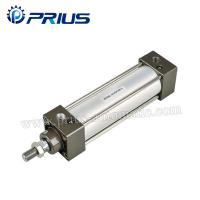 Quality SC / SU Standard Air Cylinders , Adjustable Buffer Double Acting Air Cylinder for sale