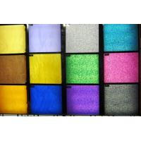 Quality Golden / Silver / Fluorescent / Mica Cast Acrylic Sheet , High Gloss Color Printing for sale