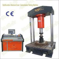 Quality Computer Control Multifuntion Manhole Cover Compression Testine Machine for sale