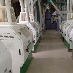 Quality 560KW Power Industrial Flour Mill Equipment 150 TPD Wheat Flour Mill for sale